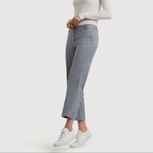Kit and Ace Wool Cropped Straight Leg Trousers